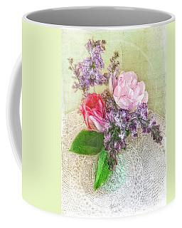 Spring Song Floral Still Life Coffee Mug