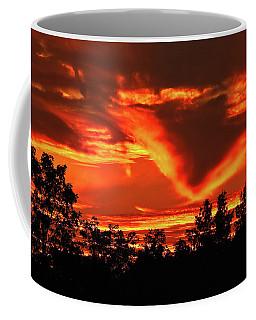 Springport, Michigan Sunset 4289 Coffee Mug