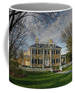 Springtime At Longfellow House Coffee Mug