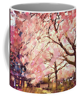 Springtime In The City Coffee Mug