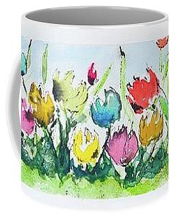 Springtime Tulips Coffee Mug