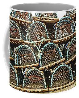 St. Andrews. Lobster Pots. Coffee Mug