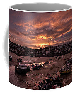 St Ives Cornwall - Harbour Sunset Coffee Mug