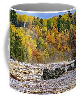 St. Louis River At Jay Cooke Coffee Mug