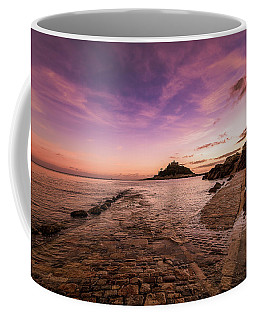 St Michael's Mount - January Coffee Mug
