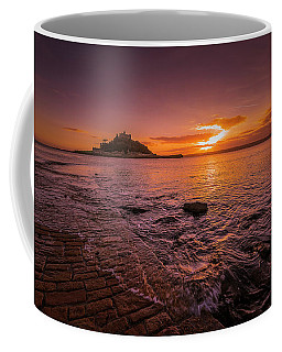 St Michael's Mount - January Sunset Coffee Mug