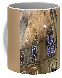St Patricks Stained Glass Coffee Mug