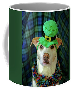 Coffee Mug featuring the photograph St Pat's Snofie by Lora J Wilson