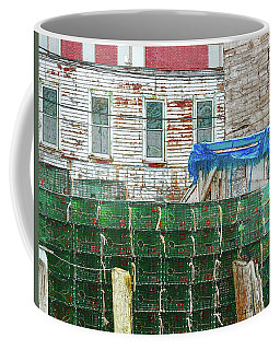 Stacked Lobster Traps Coffee Mug