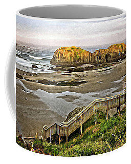 Stairs To The Beach Coffee Mug