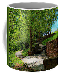 Coffee Mug featuring the photograph Stairway To Carlyle by Lora J Wilson