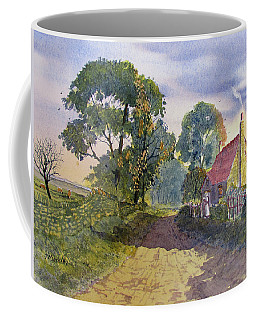 Standing In The Shadows Coffee Mug