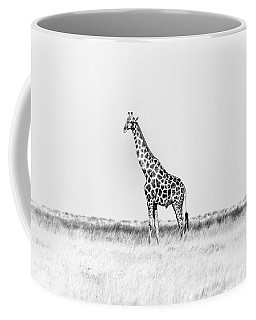 Coffee Mug featuring the photograph Standing Watch by Rand