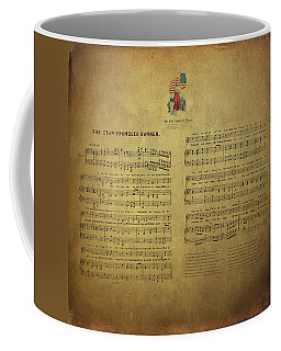 Star Spangled Banner Vintage Sheet Music Coffee Mug
