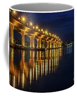 Starburst Bridge Reflection Coffee Mug
