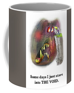 Staring Into The Void Coffee Mug