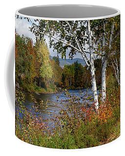 Stark, Nh Fall White Birch  Coffee Mug