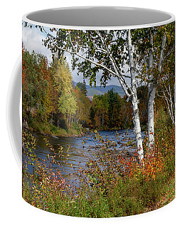 Stark, Nh Fall White Birch  Coffee Mug