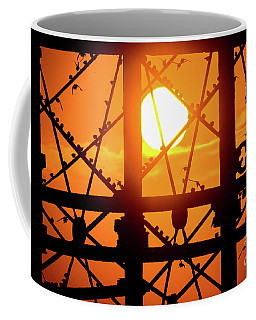 Starlings Roosting At Sunset Coffee Mug