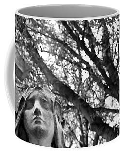 Statue, Contemplating Coffee Mug
