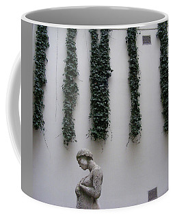 Statue, Wall Coffee Mug