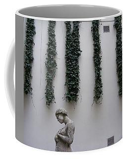 Statue, Wall Coffee Mug