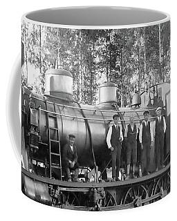 Steam Engine Locomotive 594 Finland Coffee Mug