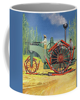 Steam Traction Engine Created To Work In The Sugar Plantations Of Cuba Coffee Mug