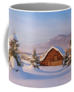 Coffee Mug featuring the photograph Steamboat Morning by Darren White