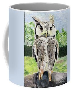 Coffee Mug featuring the painting Steve by Mkc