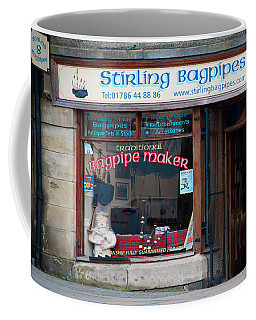 Stirling Bagpipes - Stirling Scotland Coffee Mug