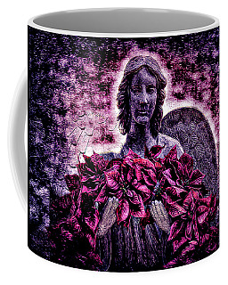 Stone Angel Coffee Mug