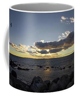 Stonington Point Cloudy Sunset 2019 Coffee Mug