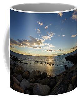 Stonington Point On The Rocks - Stonington Ct Coffee Mug