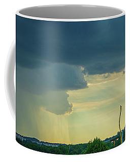 Storm Approaching Amusement Park Coffee Mug