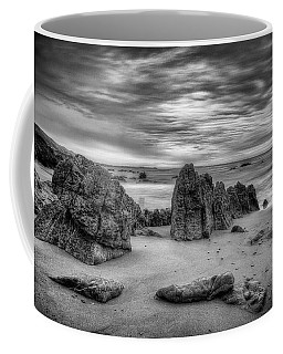 Coffee Mug featuring the photograph Storm At Leo Carrillo by John Rodrigues