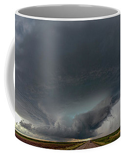 Coffee Mug featuring the photograph Storm Chasin In Nader Alley 008 by NebraskaSC