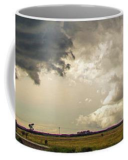 Coffee Mug featuring the photograph Storm Chasin In Nader Alley 012 by NebraskaSC