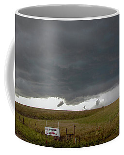 Coffee Mug featuring the photograph Storm Chasin In Nader Alley 016 by NebraskaSC