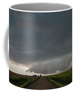 Coffee Mug featuring the photograph Storm Chasin In Nader Alley 025 by NebraskaSC