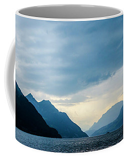 Storm Clouds On Lake Lucerne Coffee Mug