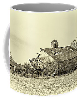 Storm Damage 3 Sepia Coffee Mug