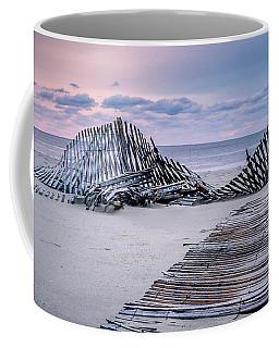 Storm Fence Sunrise Coffee Mug