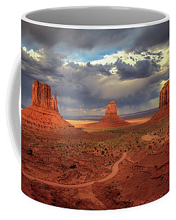 Stormy Background Coffee Mug