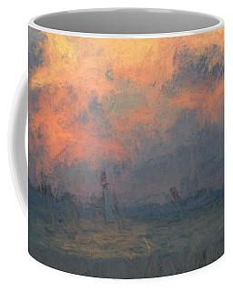 Stormy Beach Coffee Mug