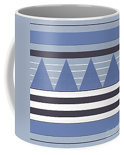 Coffee Mug featuring the photograph Stormy Blue Patch by Rockin Docks