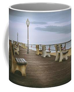 Stormy Boardwalk 2 Coffee Mug