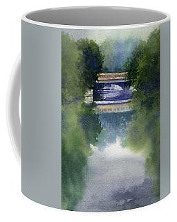 Stormy Day On Bridge Road Coffee Mug