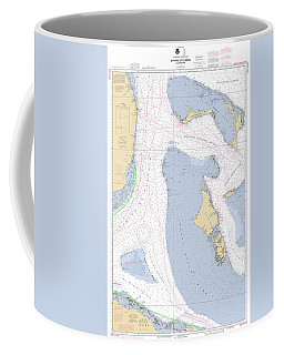 Straits Of Florida, Eastern Part Noaa Nautical Chart Coffee Mug