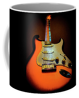 Stratocaster Triburst Glow Neck Series Coffee Mug